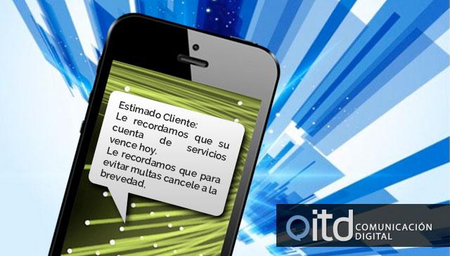 Servicios de SMS masivos